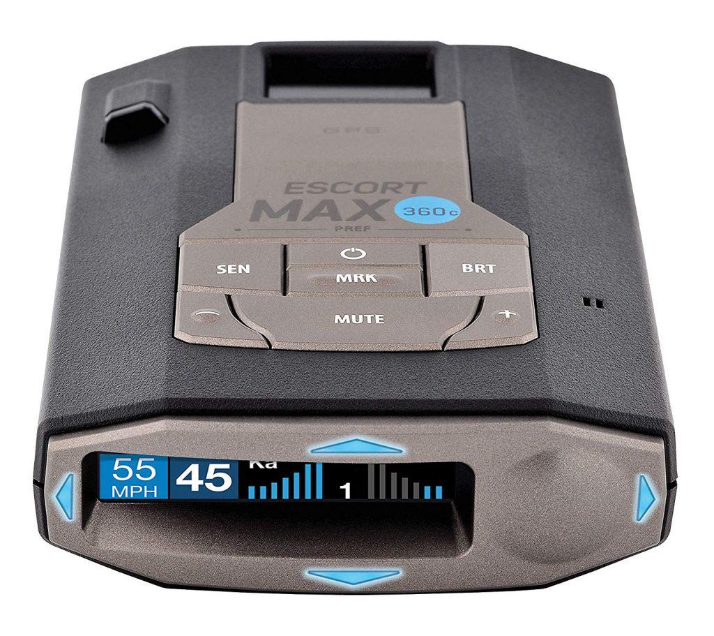 escort max360c review