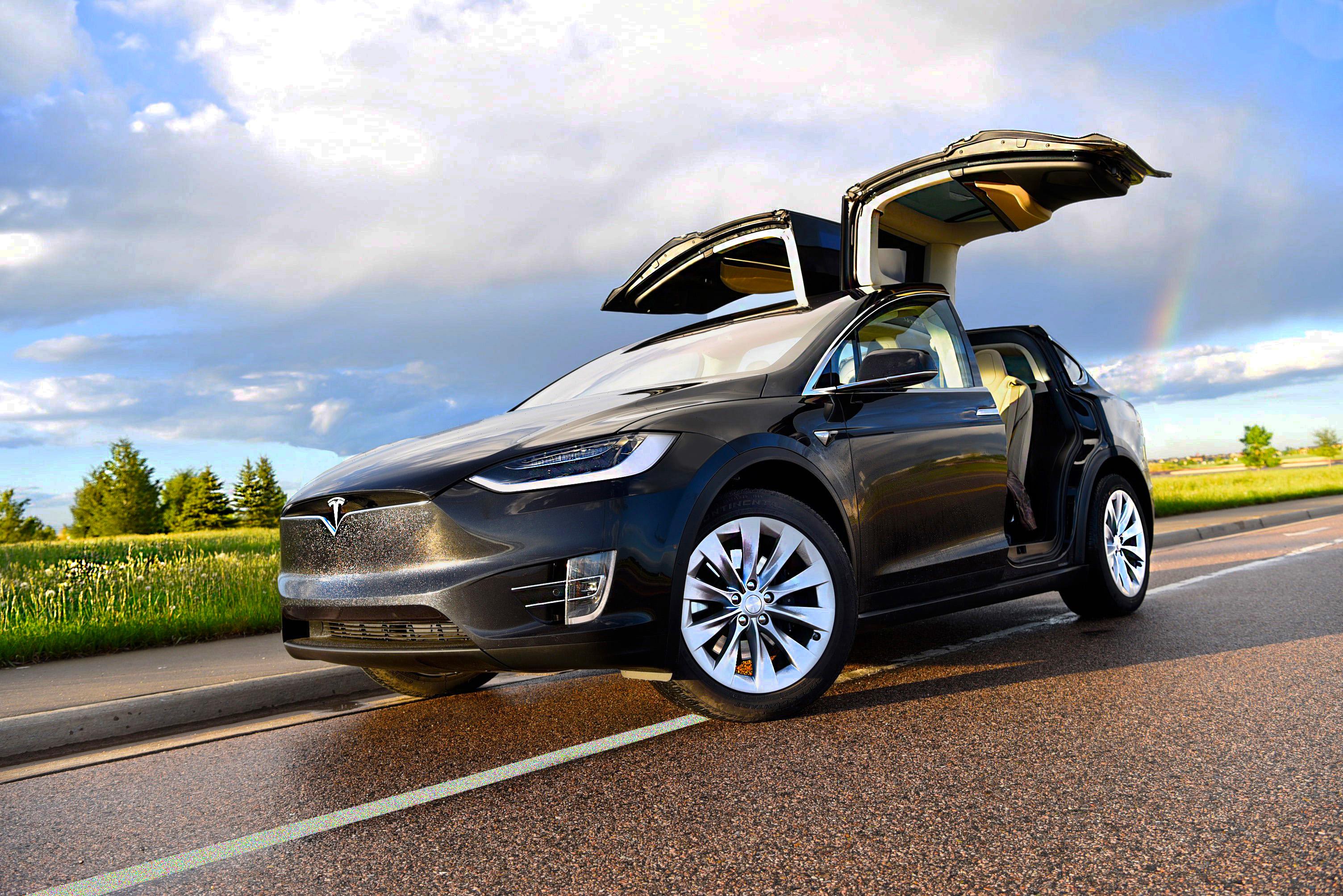 #5. Tesla Model X 100D