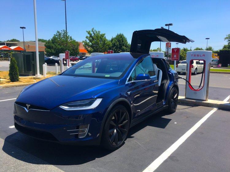 #7. Tesla Model X P100D