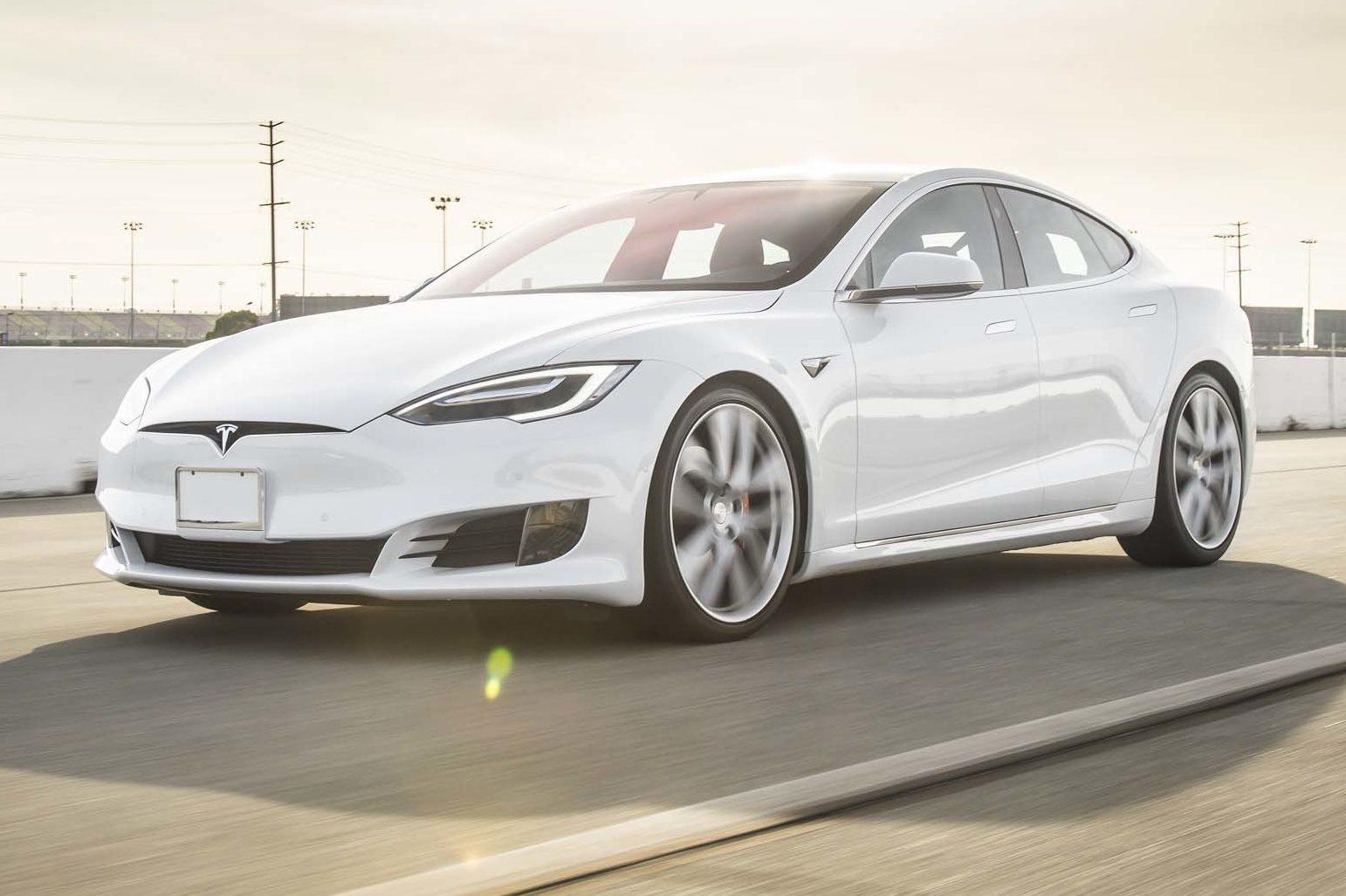 #2. Tesla Model S P100D