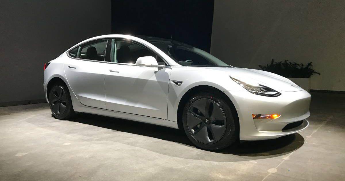#3. Tesla Model 3 Long Range Version