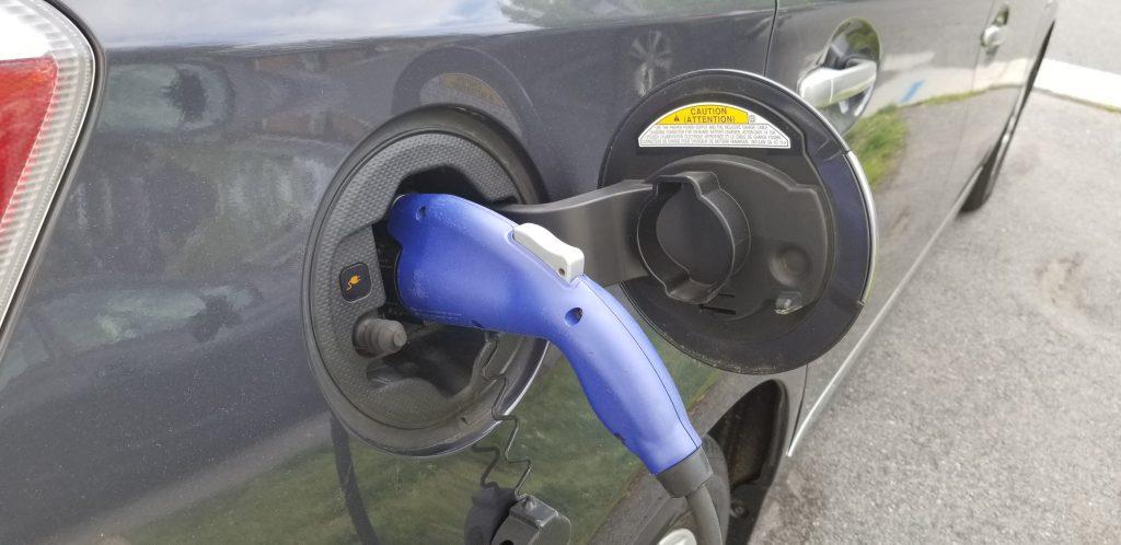 charging using a j1772 plug