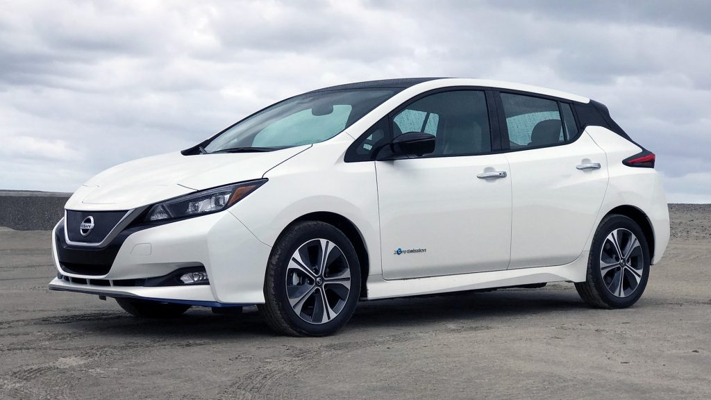 #22 Nissan Leaf Plus