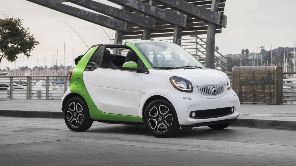 advantages of the smart fortwo electric drive