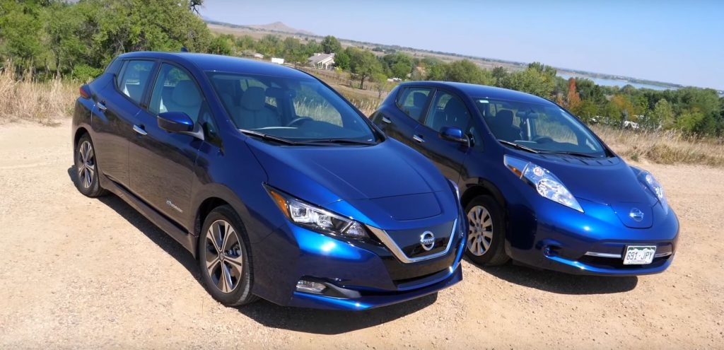 Nissan Leaf OLD vs Nissan Leaf NEW