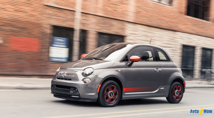 lease deal on Fiat 500e