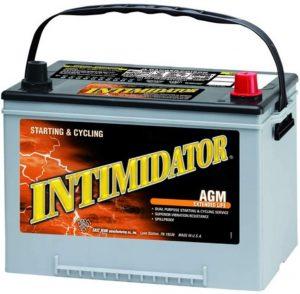 Intimidator AGM battery