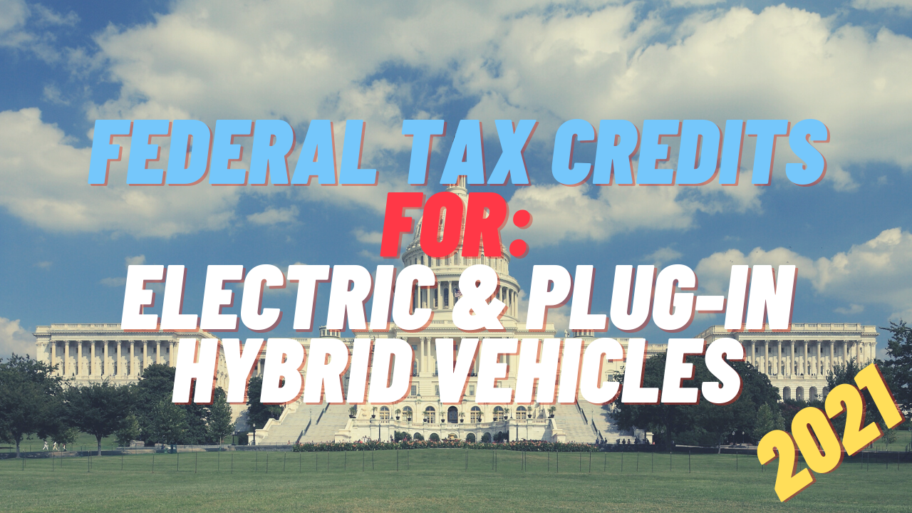 federal tax credits for ev's
