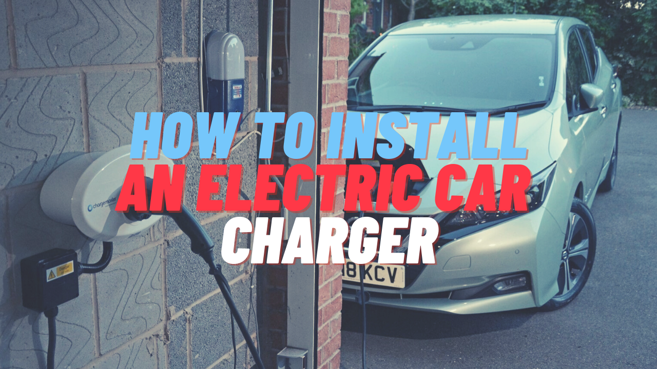 how to install an EV charger