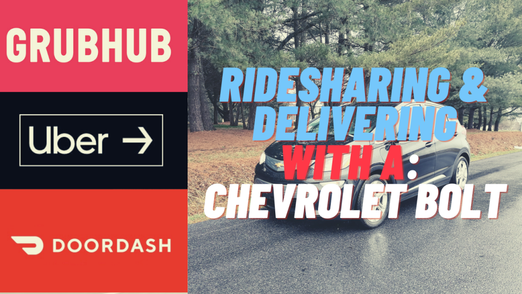 rideshare and deliver in bolt ev