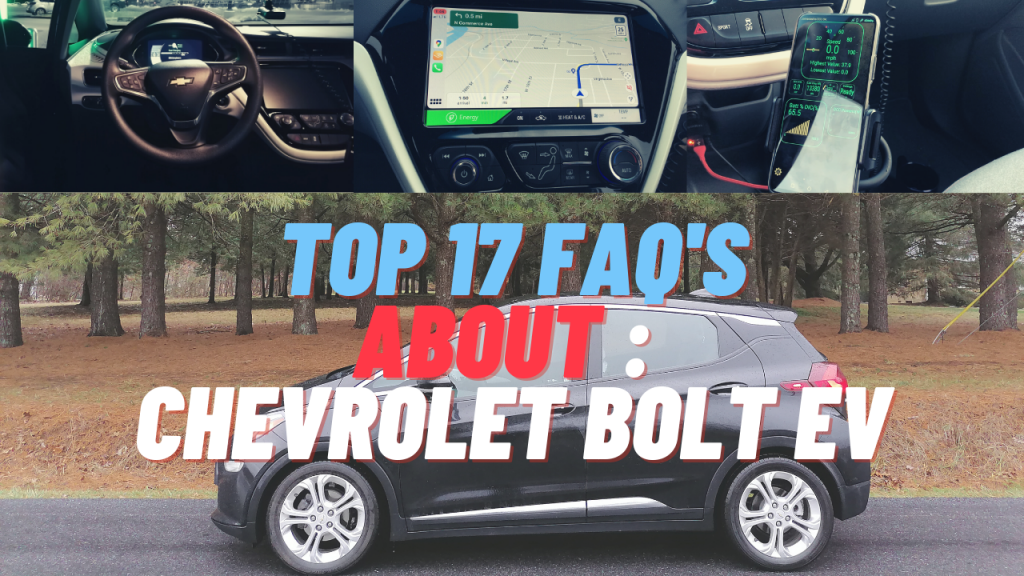 Top faq about bolt ev