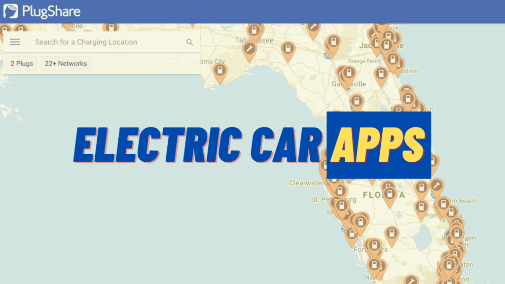 top electric vehicle apps