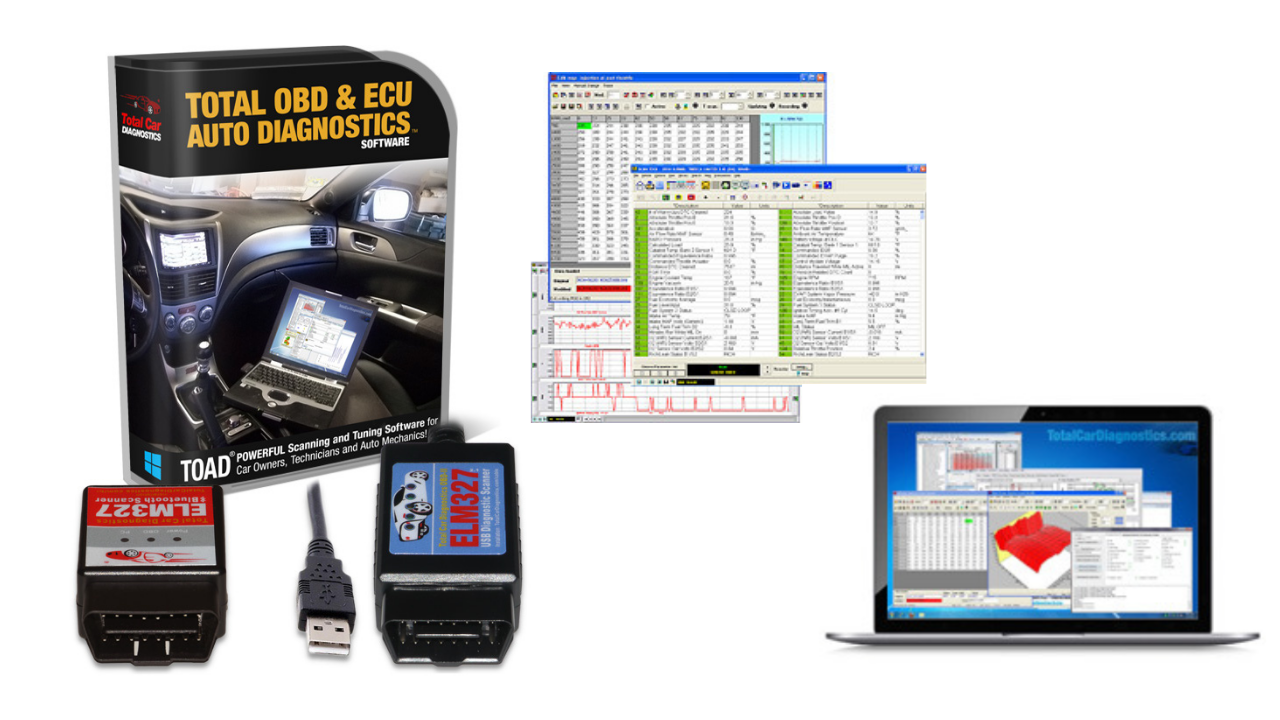 Toad PRO obd2 software