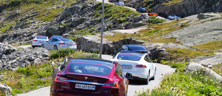 electric cars in switzerland