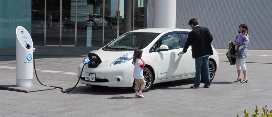 Electric cars in Japan