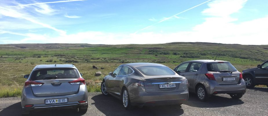 electric cars in iceland
